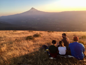 Best sunset hike mt hood oregon